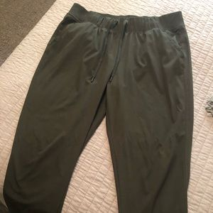 Olive green Champion workout/hiking pants